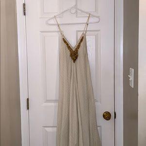 Greek Goddess Dress WORN ONCE!!